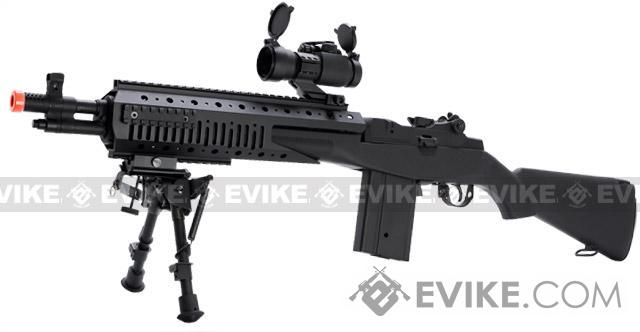 Evike.com Class I Custom Socom 16 Devil Full Size Airsoft AEG Rifle - (Package: Gun Only)
