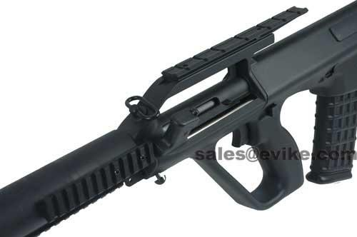 Evike Class I Custom AUG Phantom Sniper Rifle Airsoft AEG Package - Civilian Carrying Handle