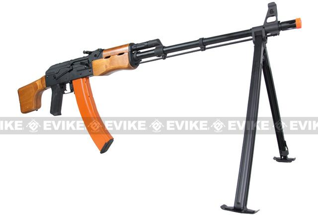 CYMA CM052 Full Metal AK47 RPK LMG Airsoft AEG w/ Bipod (Real Wood)