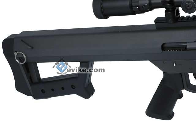 z New Version Socom Gear Licensed Barrett M82A1 / M107 Custom Airsoft AEG Sniper Rifle