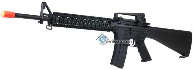 Bone Yard - Echo1 / JG Licensed M16A4 DMR Airsoft Rifle w/ CNC RIS (Store Display, Non-Working Or Refurbished Models)