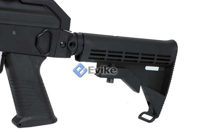 Echo1 AK47 Contractors Personal Weapon AK74 (C.P.W) Full Size Airsoft AEG Electric Rifle - (Package: Rifle)