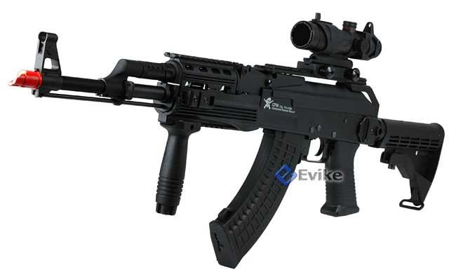 Echo1 AK47 Contractors Personal Weapon AK74 (C.P.W) Full Size Airsoft AEG Electric Rifle