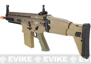 Echo1 Advanced Squad MK17 Carbine Heavy Airsoft AEG Rifle - Tan