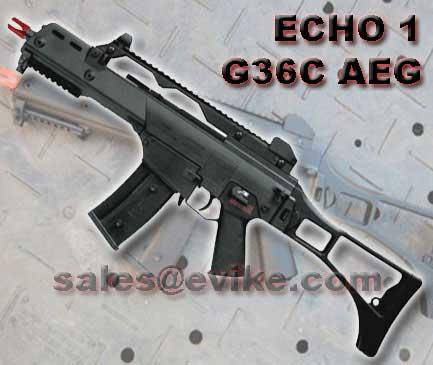 Bone Yard - JG / echo1 MK36C Full Size Airsoft AEG w/ Metal Gearbox (Store Display, Non-Working Or Refurbished Models)