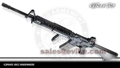 z Bone Yard - G&G GR16 R5 Full Metal M16 SPR Type Full Size Airsoft AEG Rifle (Store Display, Non-Working Or Refurbished Models)