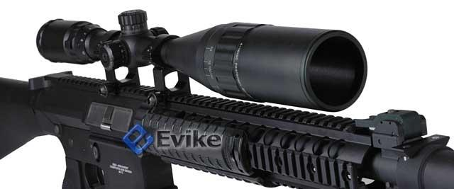 Pre-Order ETA January 2017 G&G Top Tech GR25 Full Metal Airsoft AEG Sniper Rifle w/ mock suppressor - (Package: Rifle)