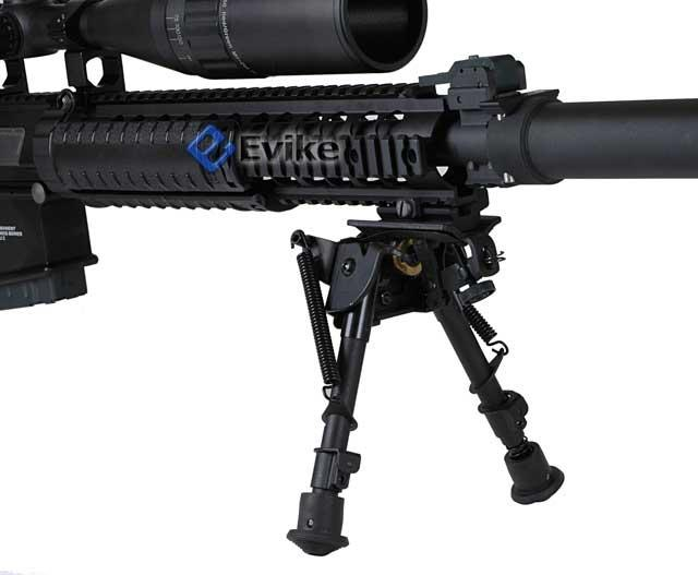 G&G Top Tech GR25 Full Metal Airsoft AEG Sniper Rifle w/ mock suppressor - (Package: Rifle)