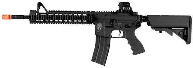 G&G GR15 Raider-XL DST Electric Blow Back Airsoft AEG Rifle - Black (Package: Add 9.6 Butterfly Battery + Smart Charger)