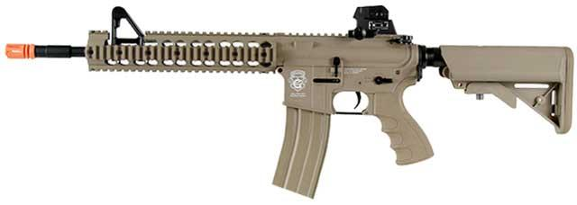G&G GR15 Raider-XL DST Electric Blow Back Airsoft AEG Rifle - Tan (Package: Gun Only)
