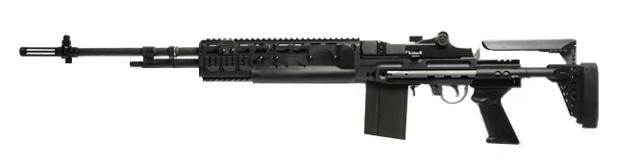 G&G Top Tech M14 HBA Full Metal Full Size Airsoft AEG Rifle - (Package: Gun Only)