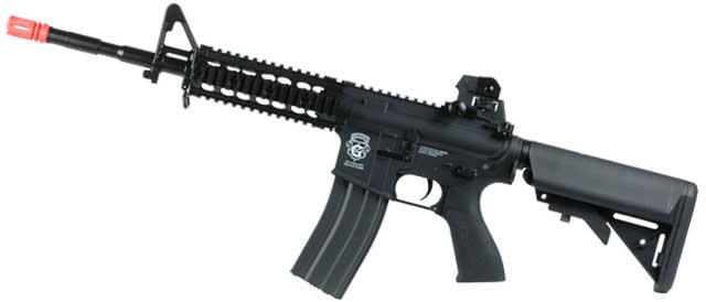 G&G GR15 Raider Full Size Carbine Electric Blow Back Airsoft AEG Rifle - Black (Package: Gun Only)