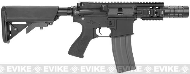 G&G Limited Edition Fighting Cat II Combat Machine Airsoft AEG Rifle - Black (Package: Gun Only)