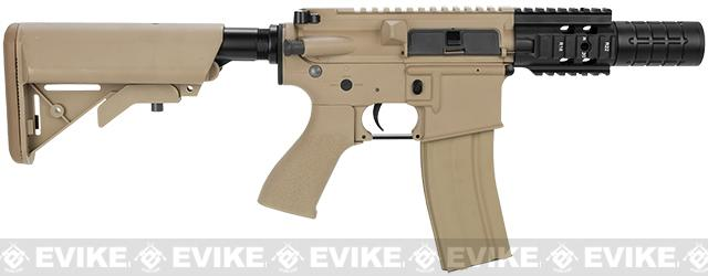 G&G Limited Edition Fighting Cat II Combat Machine Airsoft AEG Rifle - Tan (Package: Gun Only)
