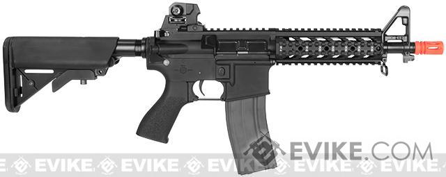 Pre-Order ETA January 2017 G&G Combat Machine 16 Raider CQB Airsoft AEG Rifle - Black (Package: Gun Only)