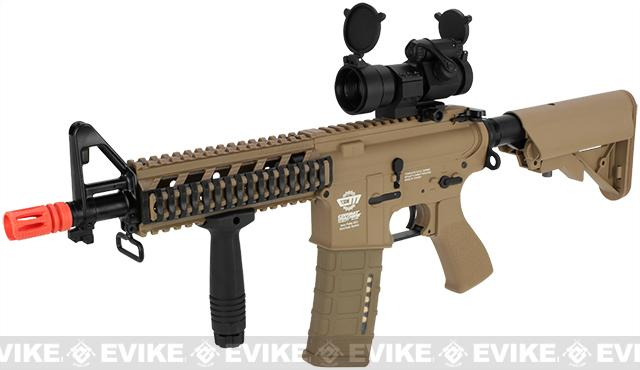 Pre-Order ETA August 2016 G&G Combat Machine 16 Raider CQB Airsoft AEG Rifle - Tan (Package: Gun Only)