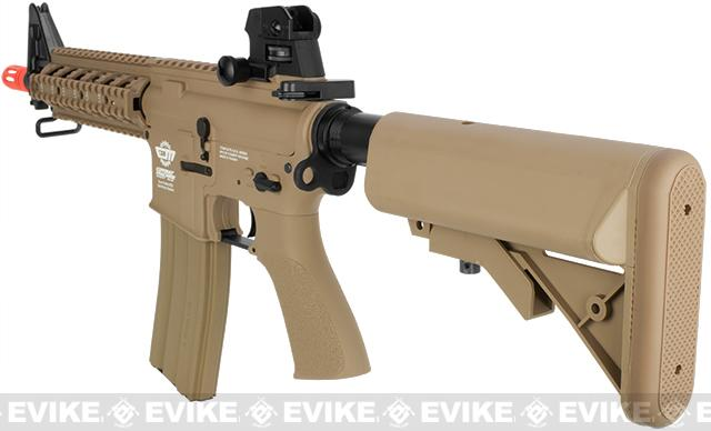 G&G Combat Machine 16 Raider CQB Airsoft AEG Rifle - Tan (Package: Gun Only)