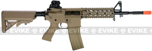 G&G Combat Machine 16 Raider Airsoft AEG Rifle - Tan (Package: Gun Only)