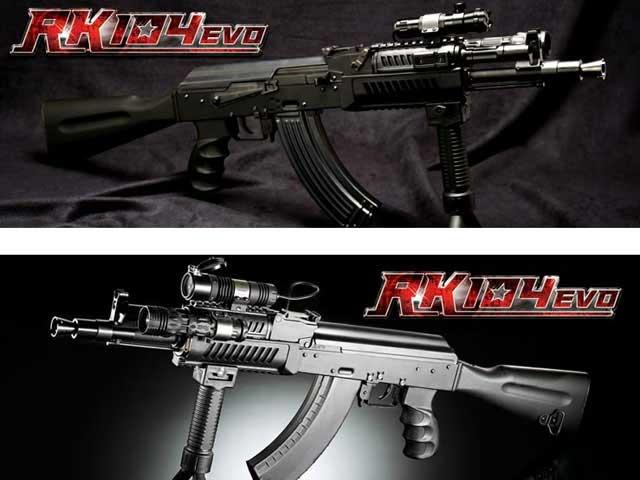 G&G RK104 EVO AK74 RIS Full Metal Full Size Airsoft AEG Rifle - (Package: Rifle)