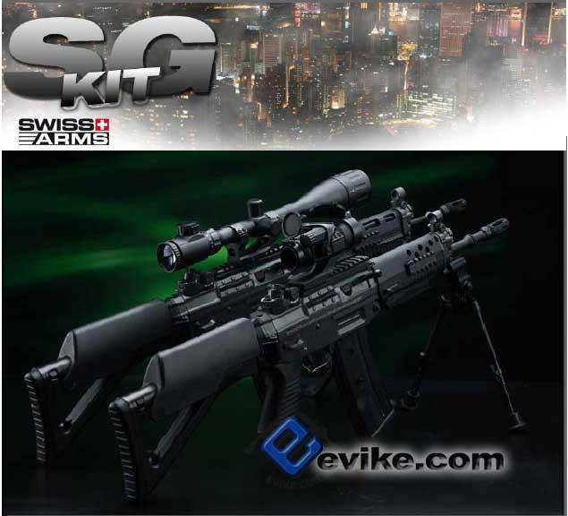 ICS SIG551 LB Conversion KIt For ICS Sig Series Airsoft AEG