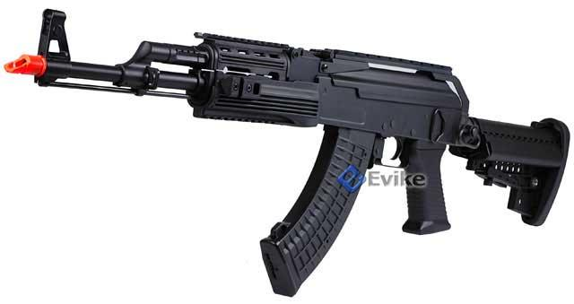 Pre-Order ETA August 2015 JG Full Metal AK47 Custom Contractors Weapon AK74 (C.P.W) Full Size Airsoft AEG Electric Rifle Package.