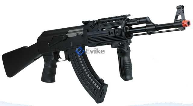 Pre-Order ETA July 2015 JG AK RIS Full Metal Full Size Airsoft AEG Rifle Package.