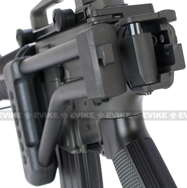 Steel LR300 Style Skeleton Folding Stock for M4 / M16 Series Airsoft AEG