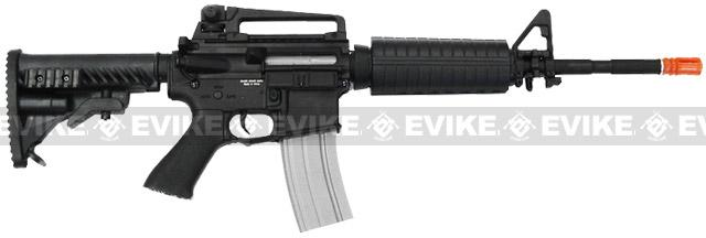 APS Full Metal M4 EBB Electric Blowback Airsoft AEG Rifle (Hybrid Gearbox)