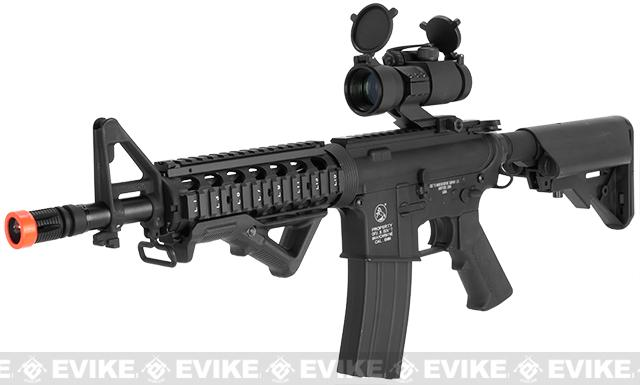 Colt Licensed M4 CQB-R Carbine Full Metal Airsoft AEG Rifle - (Package: Gun Only)