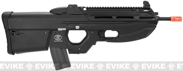 G&G FN Herstal Licensed FN2000 Full Size Airsoft AEG Rifle - Black (Package: Gun Only)