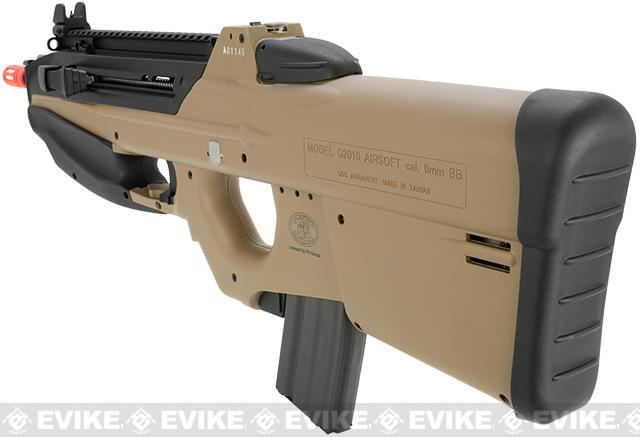G&G FN Herstal Licensed FN2000 Full Size Airsoft AEG Rifle - Tan (Package: Gun Only)