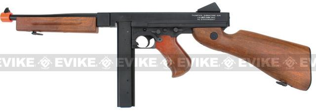 Licensed Thompson M1A1 Airsoft AEG Rifle by King Arms / CYMA (Metal Receiver / Gearbox)