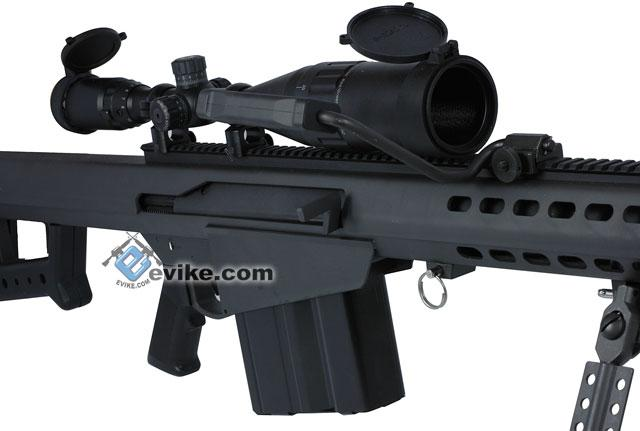 z New Version Socom Gear Licensed Barrett M82A1 / M107 CQB Version Airsoft AEG Sniper Rifle