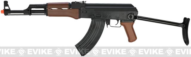z SRC AK47 AK47-S Airsoft AEG Rifle w/ Metal Gearbox. (Free battery and charger)