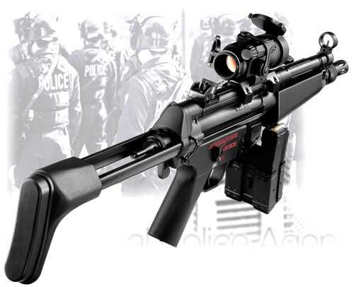 Matrix / Tokyo Marui Type Low Profile Scope Mount for MP5 / Mod5 / G3 / KG3 Series Airsoft AEG