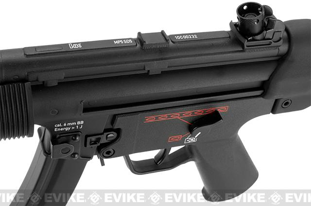 z H&K Licensed MP5 SD5 Full Metal Elite Airsoft AEG Rifle by G&G Top Tech