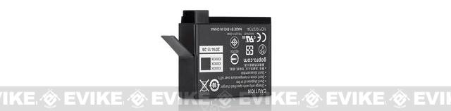 z GoPro Rechargeable Battery for HERO4 Black / Silver Wearable Cameras - 1160mAh