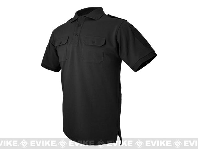 Hazard 4 Quickdry LEO Polo Shirt - Black (Size: Medium)