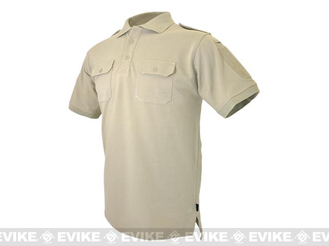 Hazard 4 Quickdry LEO Polo Shirt - Tan (Size: X-Large)