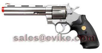 UHC UA938 6 Full size Revolver Airsoft Pistol - Silver