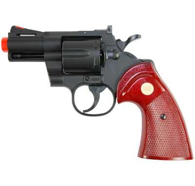 TSD / UHC Airsoft Revolver - 2.5 Snub Nose Barrel