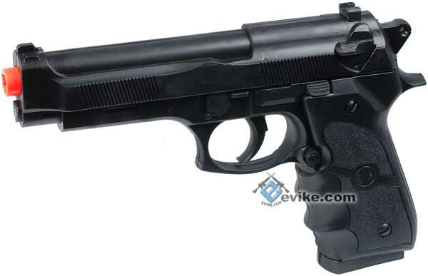 UKArms M757 Full Size M9 Airsoft Spring Pistol