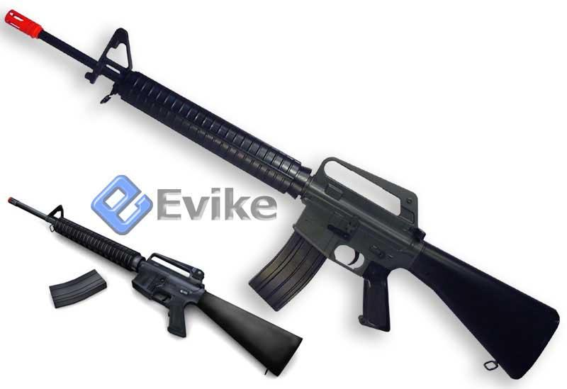 Bone Yard - Airsoft Full Size M16 Spring Rifle (Store Display, Non-Working Or Refurbished Models)