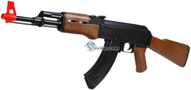 Bone Yard - CYMA / Crossman Full Size AK47 Airsoft Electric Rifle (Store Display, Non-Working Or Refurbished Models)