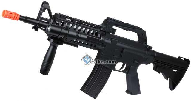 Full Size Heavy Weight M4 Tactical-System Style Airsoft Rifle.
