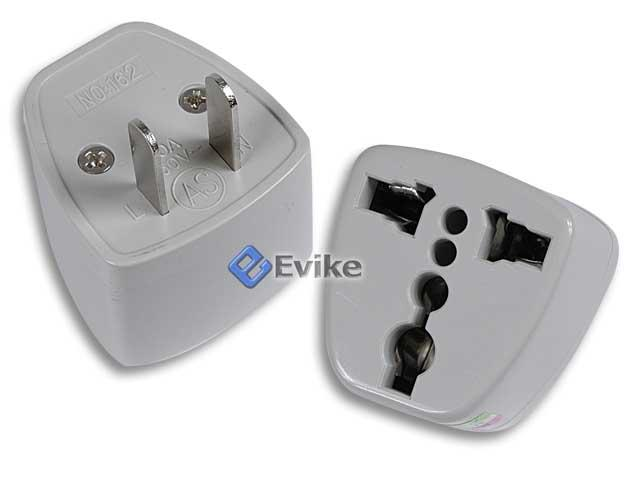 Power Plug Adapter ( Asia Type to USA Type )