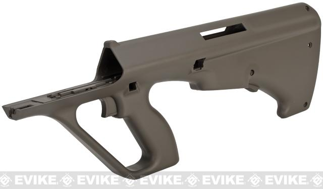 JG OEM Replacement Lower Receiver for AUG Series Airsoft AEG Rifles - OD Green