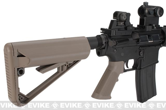 z BOLT M4 PMC Baby B.R.S.S. Full Metal Recoil EBB Airsoft AEG Rifle - Tan