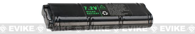 JG OEM 7.2v 500mAh Spare Mini Type NiMH Battery for WELL / JG VZ61 / Scorpion / MAC10 AEP