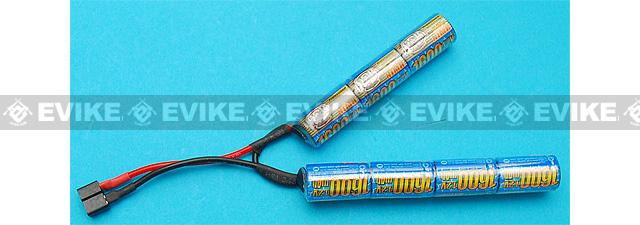 G&P Intellect 8.4v 1600mAh NiMH V-Shape Battery (Deans Connector)